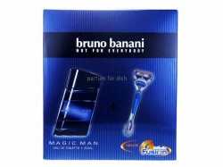 Bruno Banani Magic Man EdT 50 ml + Gillette Fusion Rasierer