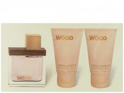 Dsquared² She Wood EdP 30ml + BL 30ml + SG 30ml