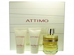 Salvatore Ferragamo Attimo EdP 100ml + Body Lotion 50ml + Shower Gel 50ml