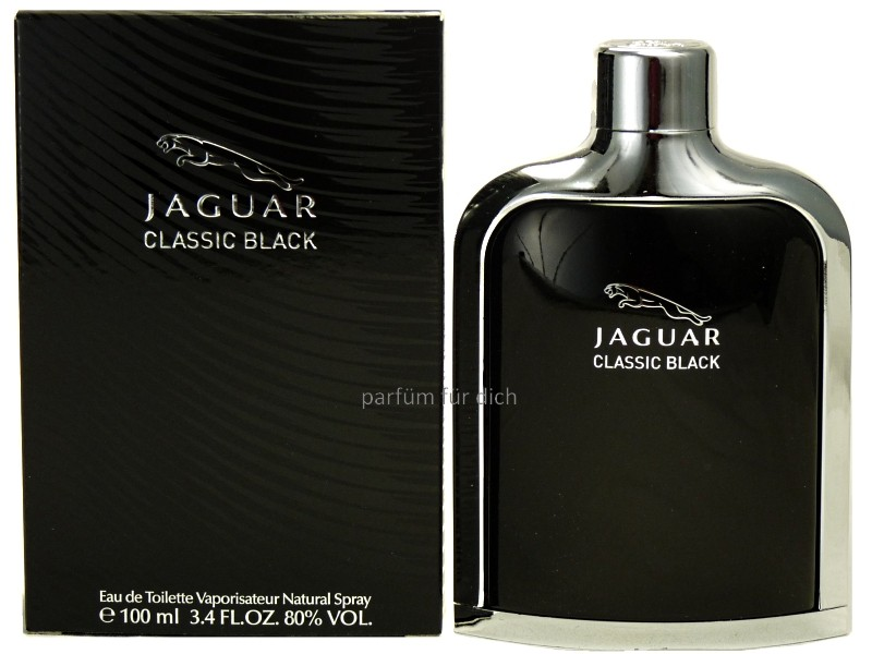 jaguar classic black eau de toilette 100ml herrenparf m. Black Bedroom Furniture Sets. Home Design Ideas