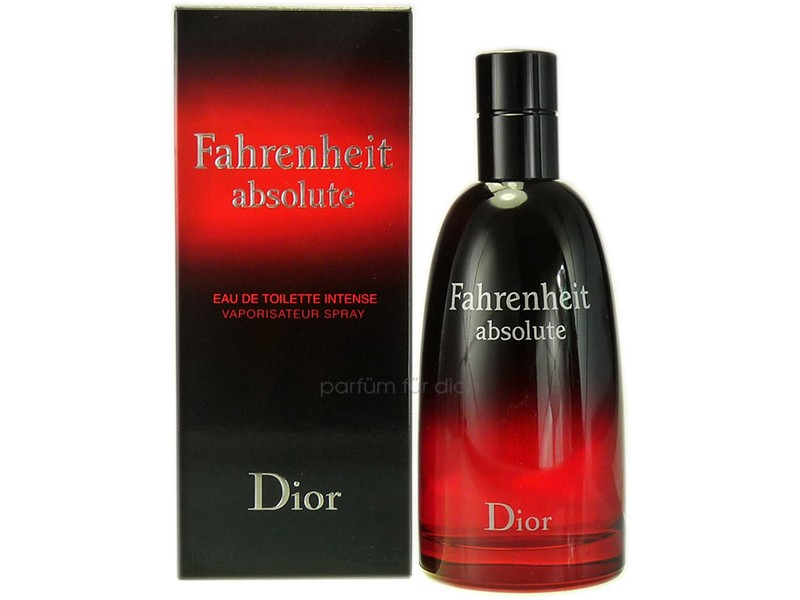 dior fahrenheit absolute intense eau de toilette 100ml. Black Bedroom Furniture Sets. Home Design Ideas
